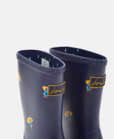 Roll Up Wellies navy ducks