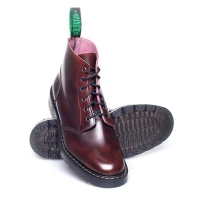 Burgundy Rub-Off Derby Boot