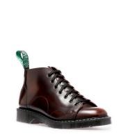 Burgundy Rub-Off Monkey Boot