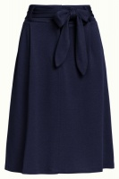 Ava Skirt Milano Crepe Dark Navy