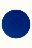 Beret Wool dazzling blue