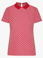 Bonjour Weekend Top - Sunbrellas Red