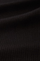 Carice V Top Tencel Rib Black