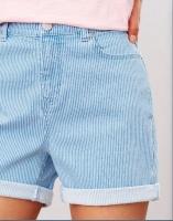 Joules shorts Shirley denim stripe