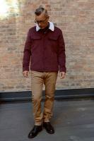 Kingsland jacket red