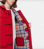 Gloverall Women's Original Duffle Coat red