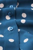 Rosie Blouse Polkadot Autumn Blue