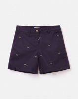 Joules mid length chino shorts Cruise navy bee