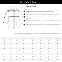 Gloverall Women's Slim Fit Duffle Coat red