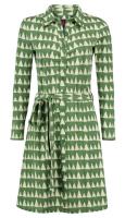 Button Down Dress Winter green