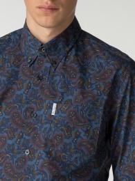 Ben Sherman shirt Archive blue
