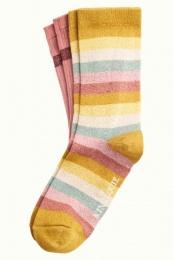 King Louie socks 2-Pack Campania Curry Yellow