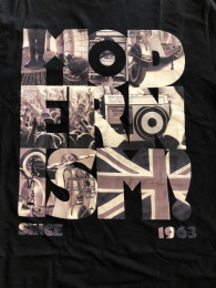 Ben Sherman tee Modernism True Black