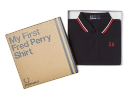 My first Fred Perry Navy/White/Red