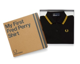 My first Fred Perry Black/Yellow