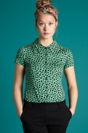 Blouse Bobcat Neptune Green