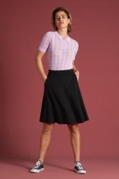 Sofia Skirt Milano Crepe black