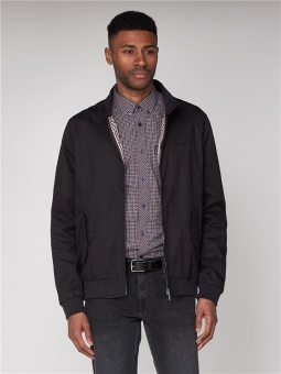 Ben Sherman Black Harrington Jacket