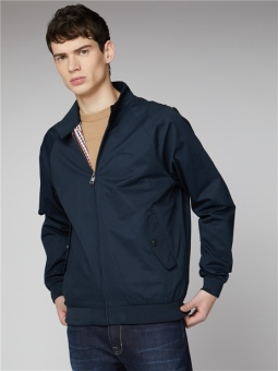 SIGNATURE HARRINGTON navy
