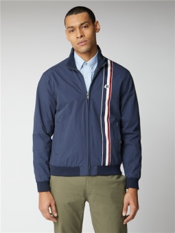 Navy Sports Harrington