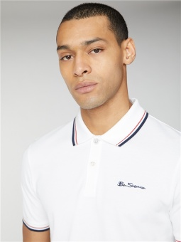 Signature Polo White