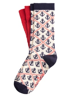 King Louie socks 2-Pack Harbor