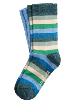 Socks 2-Pack Campania Dragonfly green