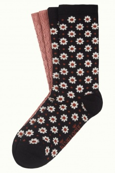 King Louie socks 2-Pack Tate black