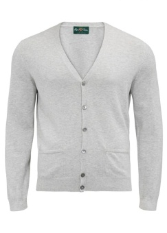 Alan Paine Ashburton cardigan dove