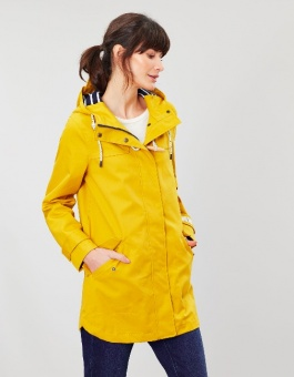 Coast Mid Waterproof Coat Antique Gold
