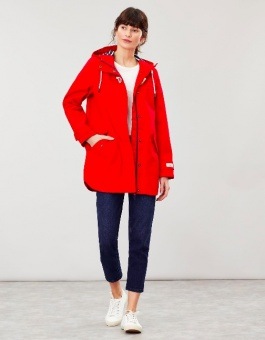 Coast Mid Waterproof Coat Red