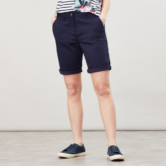 Cruise Navy Long Chino Shorts