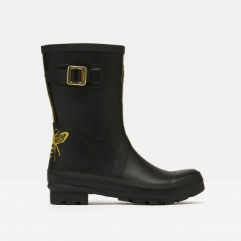 Molly Welly Gold Etched bee