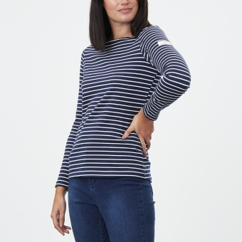 Harbour Navy Cream Stripe