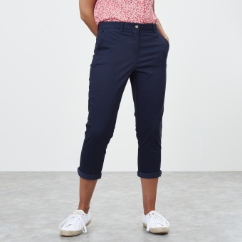 Joules cropped chinos Hesford french navy
