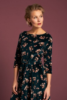 Betty dress huckleberry