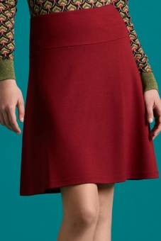 Border Skirt Milano Uni ribbon red