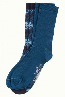 Socks 2-Pack Dynasty autumn blue