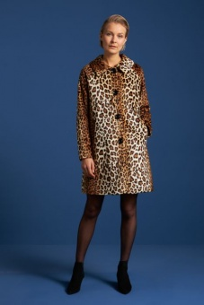 Betty Coat Leopard
