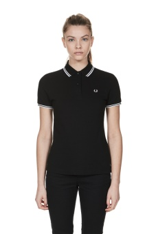 Twin tipped shirt black