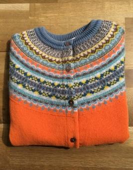 Alpine cardigan Turmeric