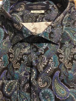Carlos Cordoba Shirt Paisley Print