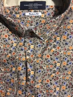 Carlos Cordoba Shirt Small Flowers