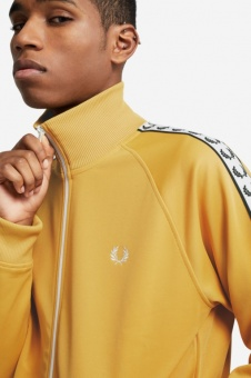Taped Track Jacket Gold