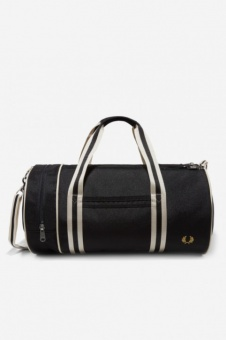 Twin Tipped Barrel Bag black