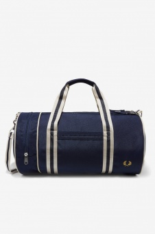 Twin Tipped Barrel Bag navy