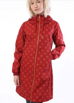 Line Softshell Dark Brick/Cold Rose FUNDOTS