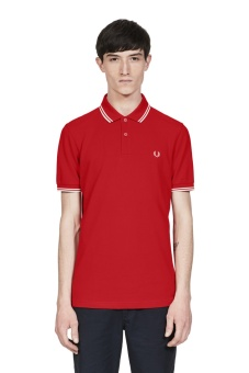 Twin tipped shirt red