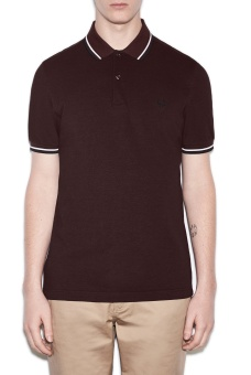 Twin tipped shirt Mahogany