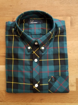 Tartan shirt deep atlantic